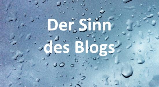 Der Sinn diesesBlogs