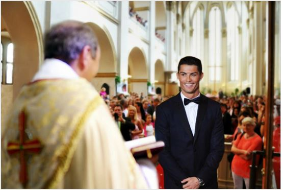Ronaldo heiratet endlich