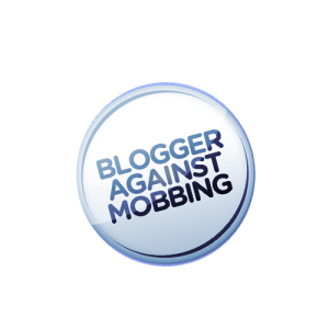 Blogger against Mobbing Button 1