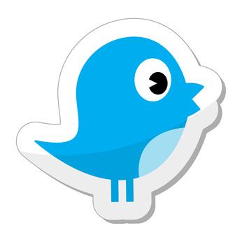 Social media bird icon
