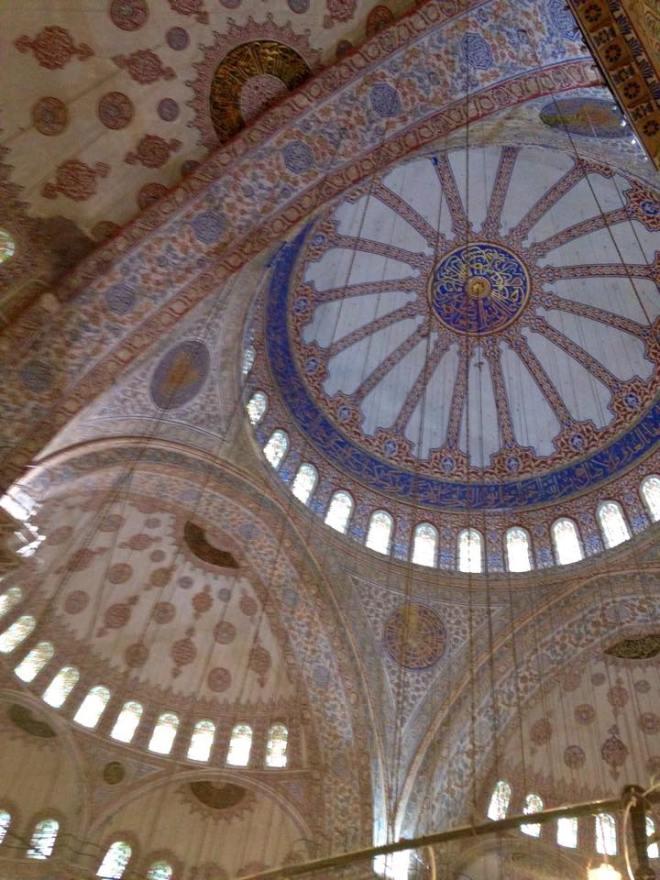 Blaue Mosche innnen